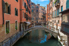 View of Canal in Venice. Italy Royalty Free Stock Image