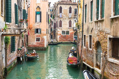 View of canal in Venice, Italy Stock Image