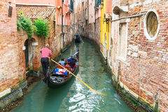 View of canal in Venice, Italy Stock Photos
