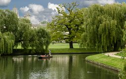 View of the canals of Cambridge