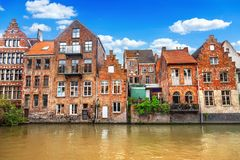 Canals of Gent Royalty Free Stock Images