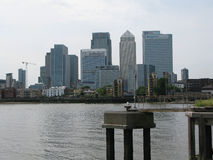 View of Canary Wharf, London, UK Stock Photo