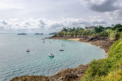 View at the Cancale bay Royalty Free Stock Photo