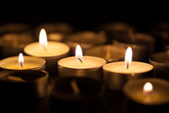View of the candles Stock Images