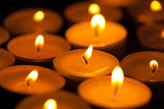 View of the candles Royalty Free Stock Images