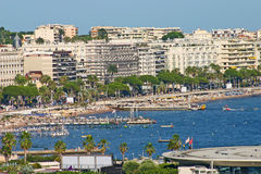 View of Cannes, South of France Royalty Free Stock Photo