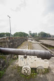 View of Cannons in Intramuros, Manila, Philippines Royalty Free Stock Photos