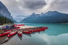 The Canadian Rockies in Banff royalty free stock image
