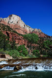 The View of Canyon Junction at Zion Stock Image