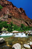 The View from Canyon Junction at Zion Royalty Free Stock Photo