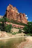 The View from Canyon Junction at Zion Royalty Free Stock Image