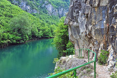 View of Canyon Matka Royalty Free Stock Photo
