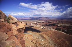 View of Canyonlands stock image