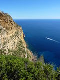 View of Cap Canaille near Cassis in south of France Stock Photo