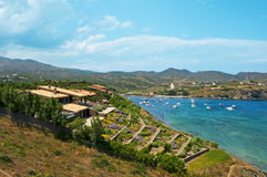 A view of Cap de Creus, Costa Brava, Spain. A view Cap de Creus, Costa Brava, Spain royalty free stock photos