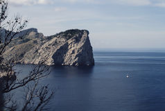 View from Cap de Formentor. Tip of a peninsula in Majorca, Spain Royalty Free Stock Photo