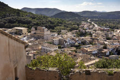 View on Capdepera Mallorca Royalty Free Stock Photography