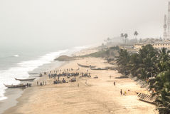 View of Cape Coast in Ghana Royalty Free Stock Photos