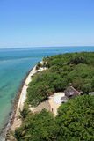 View from the Cape Florida lighthouse Royalty Free Stock Photography