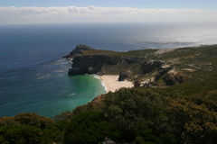 View of cape of good hope. In South Africa Stock Images