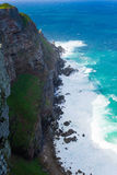 View of Cape of Good Hope South Africa. African landmark. Navigation Royalty Free Stock Image