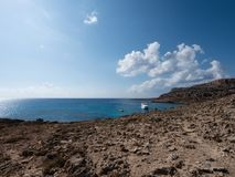 View from Cape Greco, Ayia Napa area, Cyprus Stock Photo