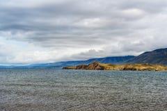 Cape Hadarta. Maloe More on Lake Baikal. Russia. View of Cape Hadarta. Maloe More on Lake Baikal. Russia Stock Images