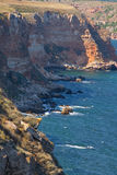 View on cape Kaliakra Stock Photo