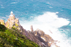 View of Cape Point lighthouse South Africa Royalty Free Stock Photos