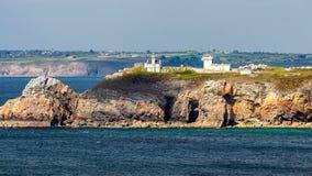 View of Cape Toulinguet, Camaret sur mer, Brittany (Bretagne), F Stock Photos
