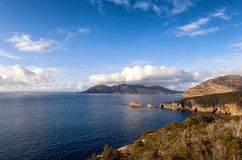 View from Cape Tourville Tasmania Royalty Free Stock Image