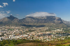 View of Cape Town Stock Image