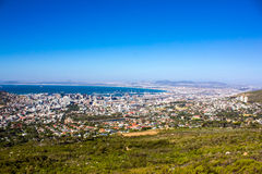 View of Cape Town Royalty Free Stock Photo