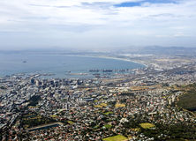 A view of Cape Town from Table Mountain Royalty Free Stock Image