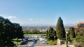A view of cape town from the university of cape town Royalty Free Stock Photography