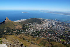 View of Capetown Stock Images