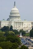 View on the Capital Building, Washington DC Royalty Free Stock Images