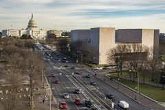 Washington DC Capitol Hill, USA Royalty Free Stock Images