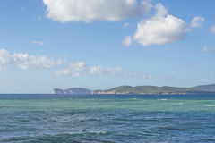 View of Capo Caccia Stock Images