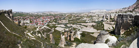 View of Cappadocia Royalty Free Stock Photography