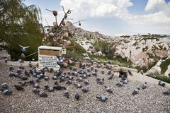 View of Cappadocia Royalty Free Stock Images