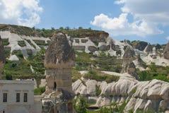 View of Cappadocia, Turkey. View of Cappadocia in Turkey Royalty Free Stock Photos