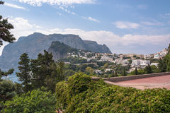 View of Capri Island in Italy Royalty Free Stock Photography