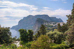 View of Capri Island in Italy Royalty Free Stock Photo