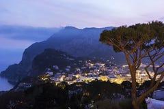View on Capri in Italy Stock Image