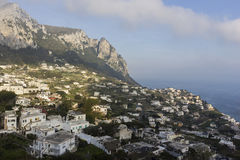 View on Capri in Italy Royalty Free Stock Images
