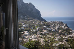 View of Capri, Italy. Royalty Free Stock Images