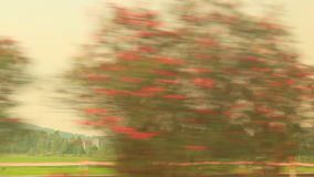 View from the Car stock footage