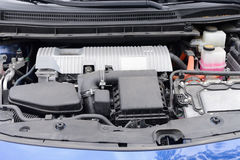 View of the car engine close up. Image of view of the car engine close up Stock Images