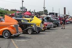 View of car show Stock Photos